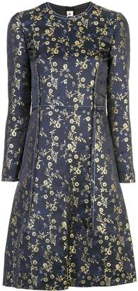 Marni floral embroidered dress