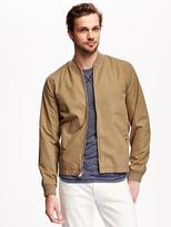 Old Navy Twill Summer-Weight Bomber Jacket for Men