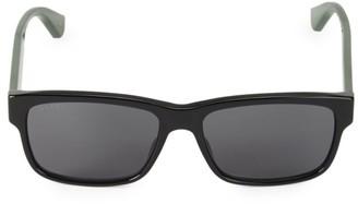 Gucci GG0340S-006 58MM Square Sunglasses