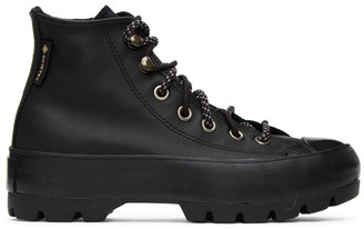 Converse Black All Star Lugged Winter Gore-Tex High Sneakers