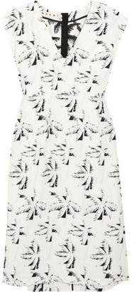 Marni Crepe-jacquard Dress