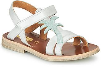 GBB SAPELA girls's Sandals in White