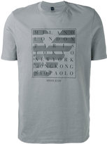 Armani Jeans city logo T-shirt - men - Cotton - S
