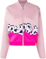 adidas by Stella McCartney Yoga Flower jacket - women - Polyester/Spandex/Elastane - S