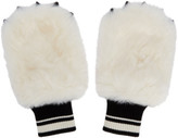 Dolce & Gabbana White Bear Gloves