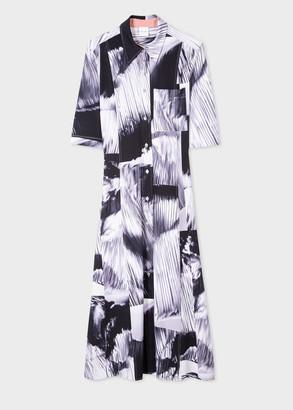 Paul Smith Women's 'Movement' Print Shirt Dress