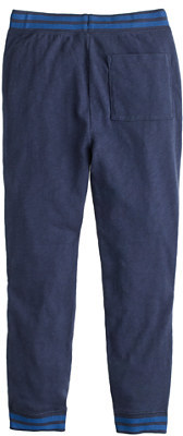 J.Crew Boys' slim slouchy sweatpant in contrast stripe