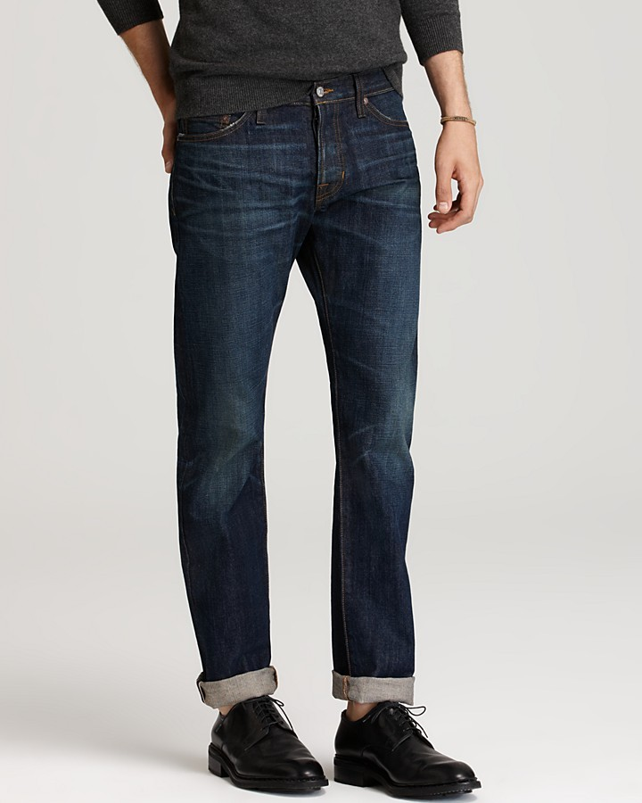 Vince Jeans - Selvedge Slim Straight Fit in 1 Year