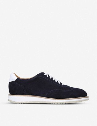 Stemar Oxford suede trainers