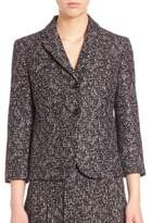 Michael Kors Printed Wool Jacket