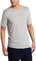 HUGO BOSS Men's Micromodal Short Sleeve V-neck T-shirt