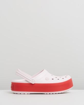 Crocs Crocband Platform Clogs