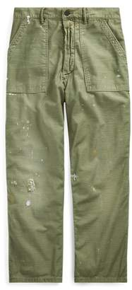 Ralph Lauren Relaxed Fit Distressed Trouser