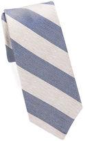 Cole Haan Narrow Striped Silk Tie