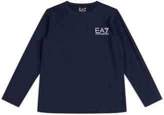 Emporio Armani Long-Sleeved Logo T-Shirt