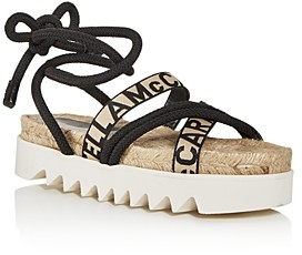 Stella McCartney Women's Ankle-Tie Espadrille Sandals
