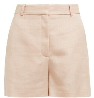 Stella McCartney Tailored Twill Shorts - Womens - Light Pink