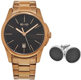 So & Co Men's Madison Watch & Cufflinks Set