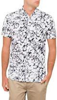 BOSS ORANGE Ss Floral Print Shirt