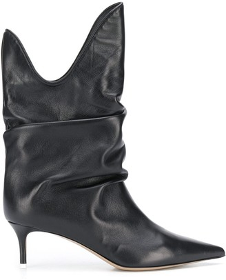 ATTICO Slouchy 60mm Ankle Boots