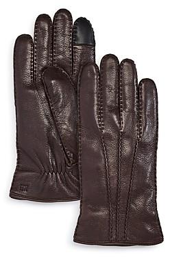 Frye Deerskin Leather Tech Gloves