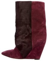 Isabel Marant Lazio Wedge Ankle Boots