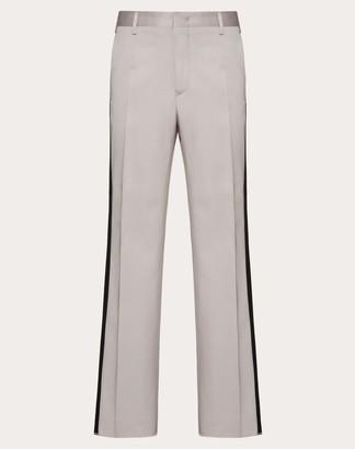 Valentino Formal Pants Man Pink Silk 37%, Elastane 2% 44