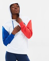 Le Coq Sportif Tri Colores Pullover Hooded Sweater