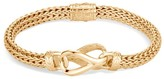 John Hardy Asli Classic Chain Link 18K Gold Bracelet