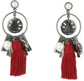 Oscar de la Renta Tassel Charm P Earrings