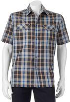 Croft & Barrow Men's Classic-Fit Plaid Outdoor Performance Button-Down Shirt