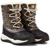 Geox Gold Jr Orizont Fleece Lined Snow Boots
