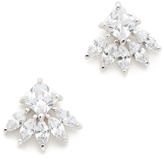 Kenneth Jay Lane Princess Marquis Stud Earrings