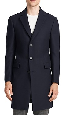 Theory Chambers Wool Blend Slim Fit Topcoat