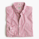 J.Crew Slim Secret Wash shirt in large stripe