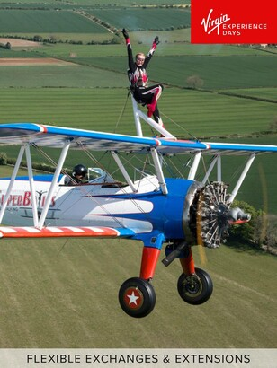 Virgin Experience Days Wing Walking in Gloucestershire