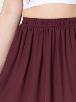 American Apparel Chiffon Double-Layered Full Length Skirt