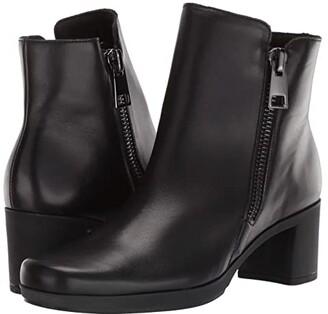 Munro American Devon (Black Leather) Women's Boots