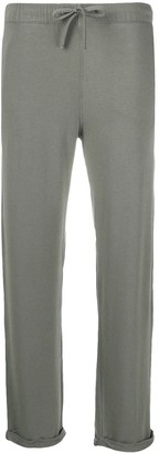 Majestic Filatures Straight-Leg Cuffed Trousers