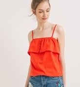 Promod Top with a bold frill