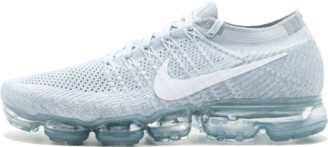 Nike Womens Air VaporMax Flyknit 'Pure Platinum' Shoes - Size 11W