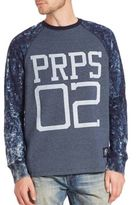 PRPS Acid-Wash Raglan Sleeve T-Shirt