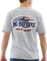JCPenney NO BAD DAYS No Bad Days Americana Logo Tee