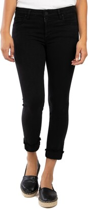 KUT from the Kloth Amy Crop Straight Leg Jeans