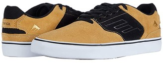 Emerica The Low Vulc (Tan/Black) Men's Shoes