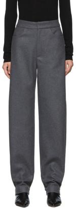 Totême Grey Novara Long Trousers