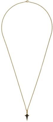 Stephen Webster 18kt gold New Cross pendant necklace