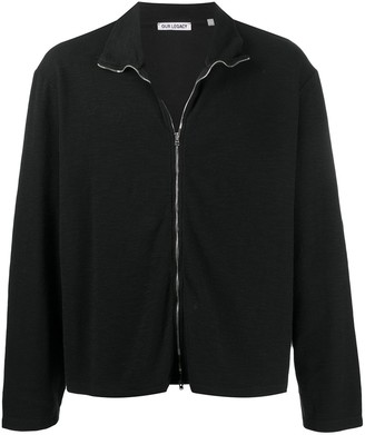 Our Legacy Zip-Up Knitted Cardigan