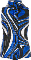Emilio Pucci printed hooded gilet