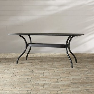 Burrowes Metal Dining Table Darby Home Co